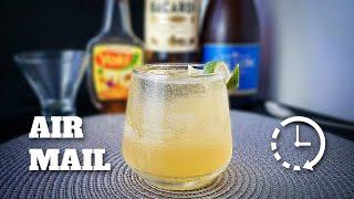 Como Fazer Air Mail (Rapidinha) | E Tome Drink!