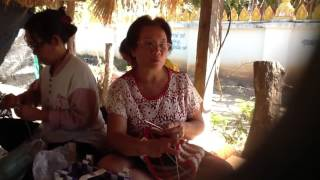 Voice from the handmade handbag knitter thailand.