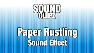 Paper Rustling Sound Effect