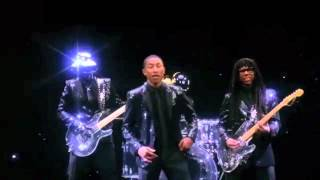CLIP BASTARDS - DAFT PUNK - GET LUCKY FAIL - Pharrell Williams