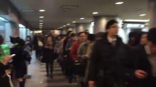 Delay at Yoga Station, Tokyo (Den-en-toshi line)