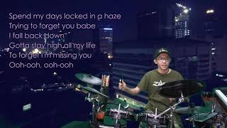 Tove Lo - Habits (Stay High) (Karaoke Drum Cover by Timothy Liem) (with lyrics)