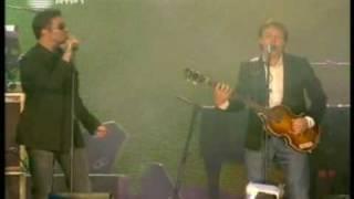 George Michael & Paul Mccartney - Drive My car - Live 8