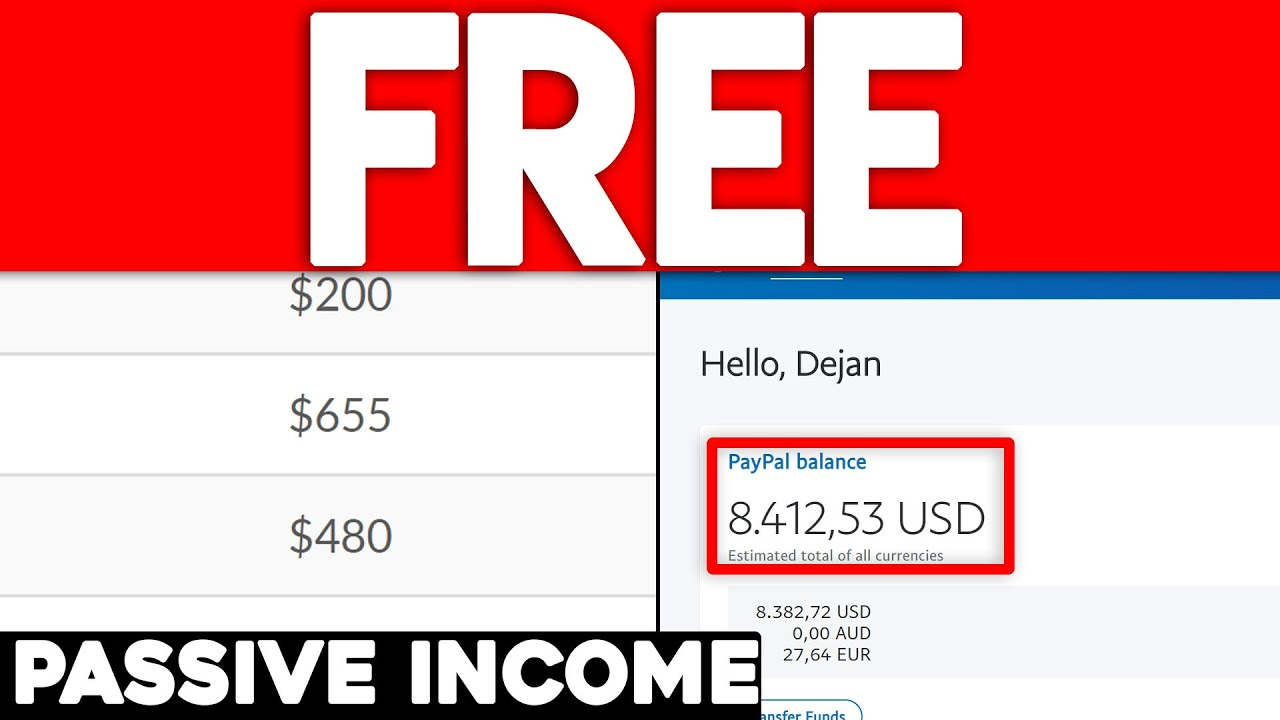 Get Free Passive Income Online In 2020 (00+)