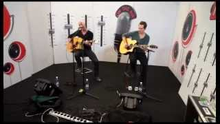 Daughtry: Crawling Back to You (Acoustic live 14.9.2012 on Radio Nova Finland)
