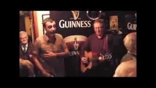Mary's Bar, Wexford. Giacomo Farioli sings 'Addio Lugano Bella'