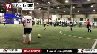 UNAM a la final tras eliminar a Pumas Floresta Liga 5 de Mayo