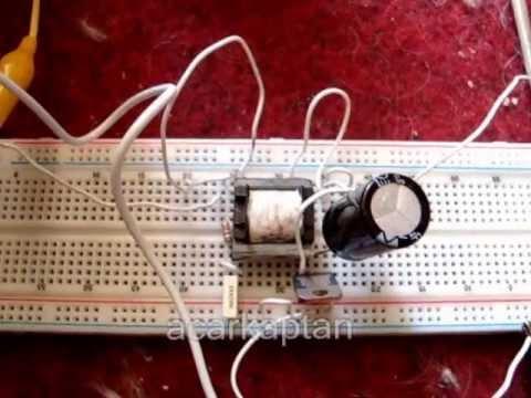 4,1 volt pil ile 6-12 volt akü şarjı.wmv