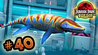 Jurassic Park Builder: MARINE Tournament: Part 40 Kronosaurus! HD