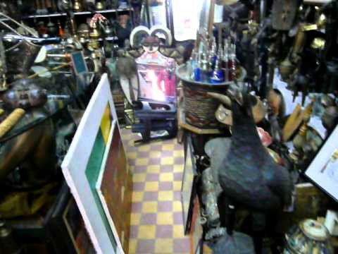 Berber Antique Store in Morocco