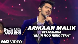 Armaan Malik Dazzling Performance at the Royal Stag Mirchi Music Awards 2016 width=
