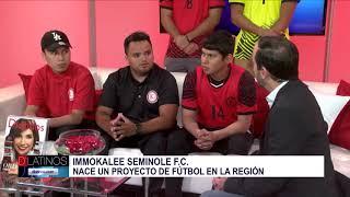 Nace un proyecto de Fútbol en la región de Immokalee. Nos visitan sus integrantes