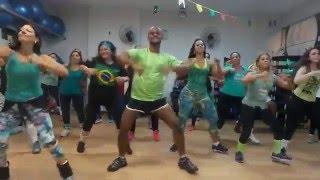Coreografia Nega Maluca - As Meninas - Professor Brunno Pereira - Academia Vibe FIT CURITIBA