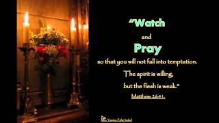 Gospel of  Matthew Chapter:26:1-75. The Plot to Kill Jesus, The Prayer in the Garden,