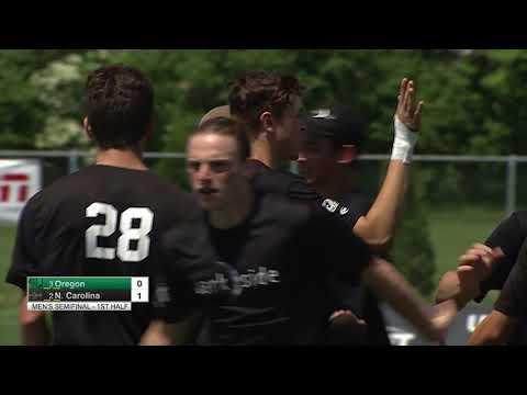 Video Thumbnail: 2018 College Championships, Men's Semifinal: North Carolina vs. Oregon