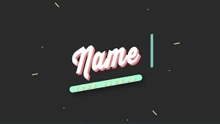 10 2D After Effects Intro Templates