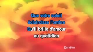 Karaoké Tout le bonheur du monde - Kids United *