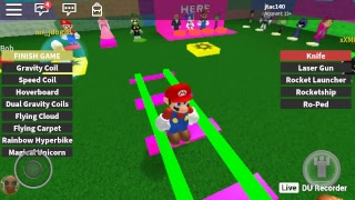 Roblox MARIO VS. LUIGE race
