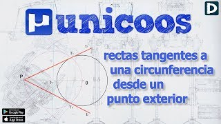 Imagen en miniatura para Rectas tangentes a una circunferencia por un punto exterior