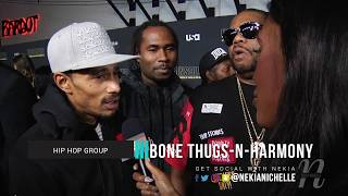 Bone Thugs N Harmony Talks Working With Biggie/Tupac & Rapping In The 90's