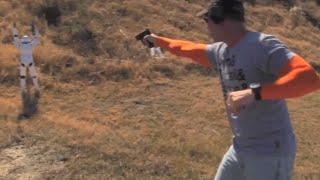 "Darren Wilson's ""curved bullet"" shot at Michael Brown duplicated"