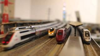 TGV Lyria試運転