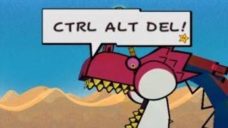 """""""CTRL ALT DEL!"""" - Chuggaaconroy Sparta Remix"""