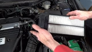How To Change Air Filter On 2003-2007 Honda Accord