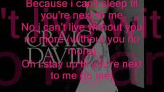 Insomnia Lyrics- Craig David