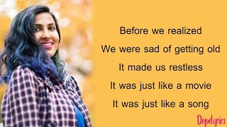 Adele - When We Were Young | Jashn E Bahaara (Vidya Vox Mashup Cover)(Lyrics)