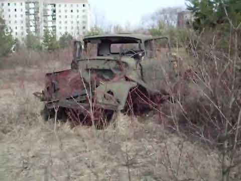 Pripyat – Porzucone pojazdy