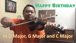 How to Play Happy Birthday on Violin
