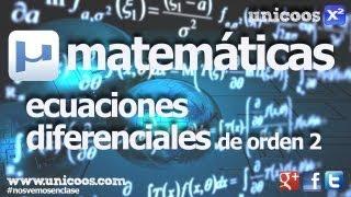 Imagen en miniatura para Ecuación diferencial homogénea de segundo orden