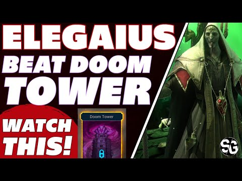 Elegaius if you want to beat Doom Tower, watch this! Raid Shadow Legends Elegaius guide