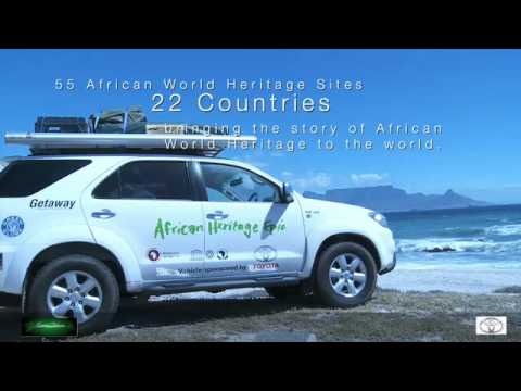 Departure of the African Heritage Epic with Toyota Fortuner Epic
