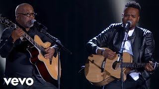 Travis Greene 2017 Stellar Award Performance feat: Israel Houghton, Jonathan McReynolds... width=