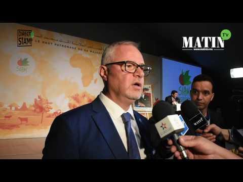 SIAM 2017 : Déclaration de Michael Hage, représentant de la FAO au Maroc