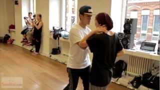 Keone & Mariel Madrid Choreography; Don't stop the music.