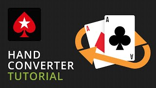 Pokerstars hand conversion