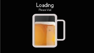 Beer Mug Loading Screen