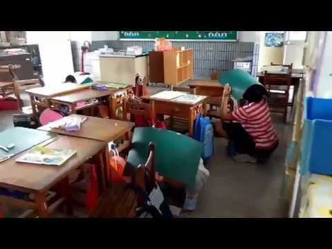 海豐國小106學年度防震防災演練 - YouTube