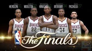 NBA Live 15 Finals Intro & Celebration - Milwaukee Bucks