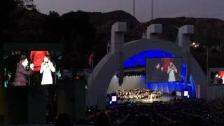"""A Whole New World"" Brad Kane Susan Egan Hollywood Bowl 6/6/16"
