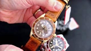 Tudor Black Bay Watch Line Up 2016 Hands On   aBlogtoWatch