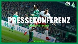 Pressekonferenz mit Florian Kohfeldt und Markus Weinzierl | Werder Bremen – VfB Stuttgart 1:1
