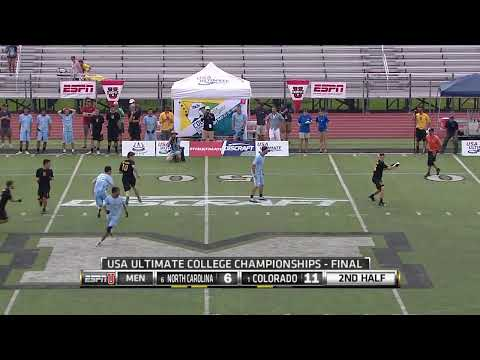 Video Thumbnail: 2014 College Championships, Men's Final: Colorado vs. North Carolina