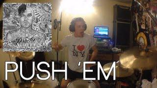 Linc Drums - Travis Barker & Yelawolf - Push 'Em (Drum Cover)