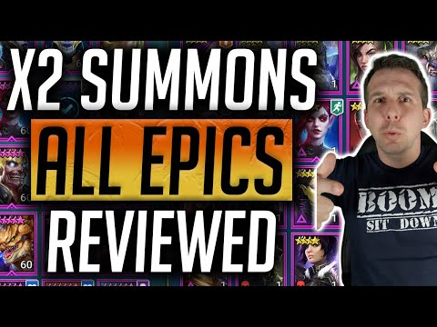 RAID: Shadow Legends | All Epics Reviewed! *redone with better sound!*
