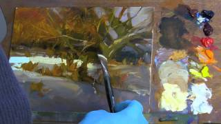 Painting Tip - Painting Oils like Watercolors