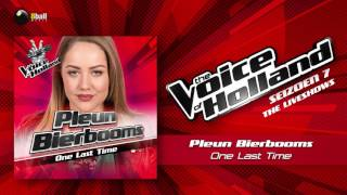 Pleun Bierbooms – One Last Time (The Voice of Holland 2016/2017 Liveshow 5 Audio)